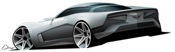 Corvette Design by Dane Schwegman