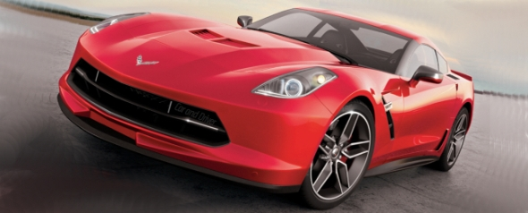 Corvette Stingray rendering by Car&Driver