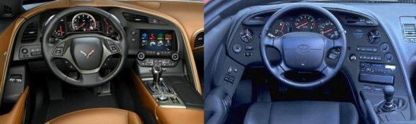 Dashboards_2014_Corvette_1993_Toyota_Supra