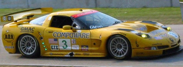 03ALMS_Johnny_O'Connell_Ron_Fellows_Corvette C5-R.