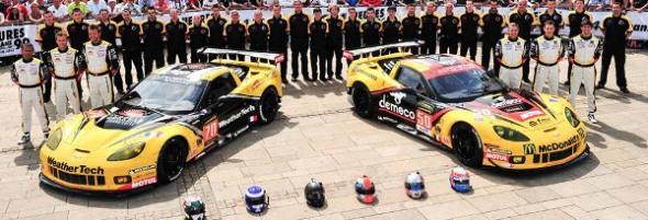 13WEC_Larbre_Competition_lineup_Le_Mans