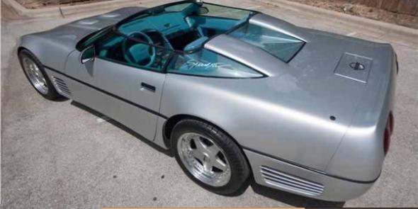1991 Callaway Speedster Corvette-008d
