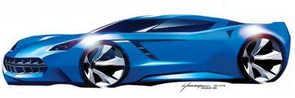 2014_Corvette_Stingray_Design Studie 2